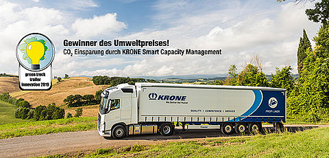 Krone gewinnt Green Truck Trailer Innovation Award