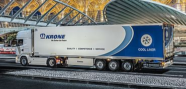 Krone Refrigerated Semitrailer