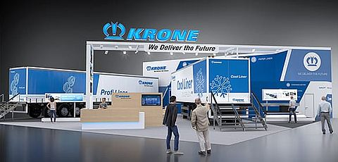 KRONE at Moscow's Comtrans 2017 Trade Fair