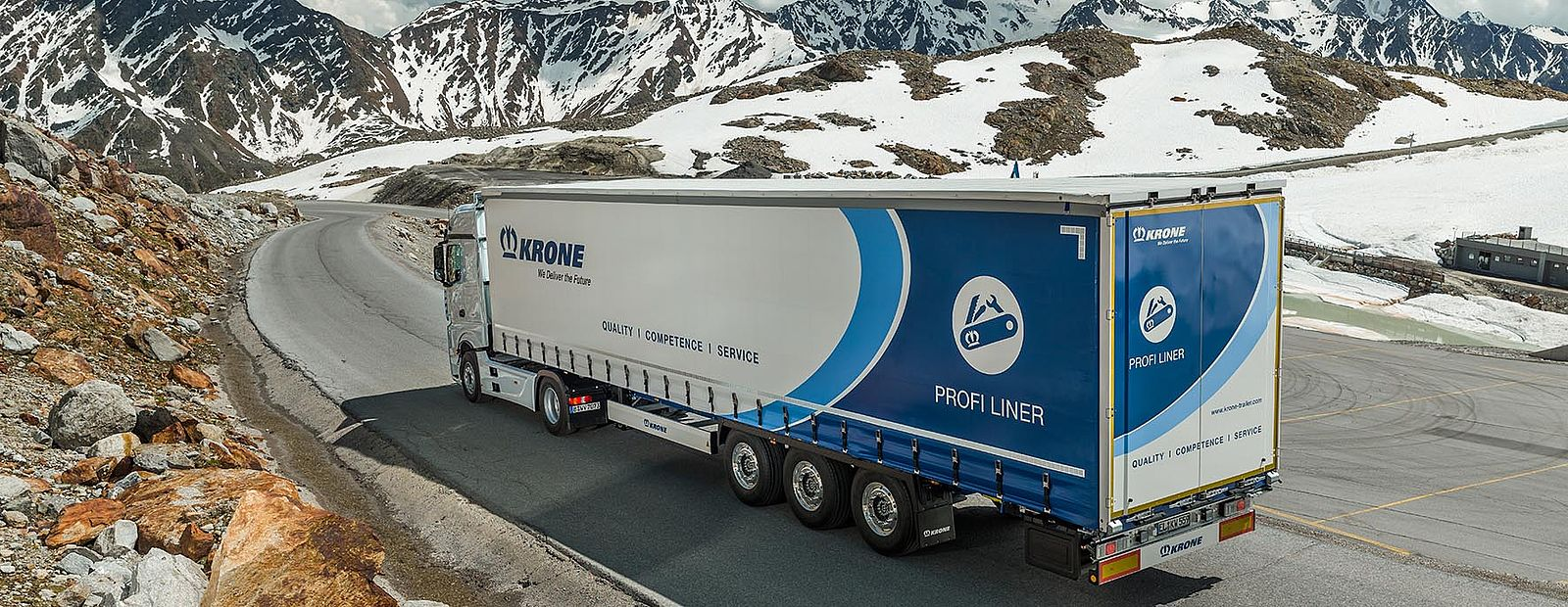 Krone Aktionswochen: Profi Liner Winter Silver Edition