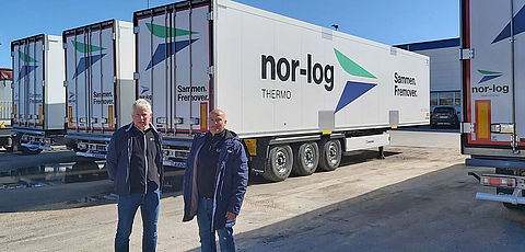 Cool Liner for fresh fish logistics in Norway