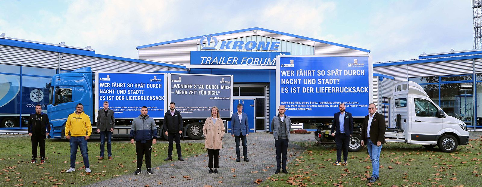 RYTLE and Krone supporting new delivery concepts of Rhenus Home Delivery
