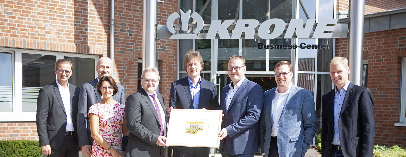 Krone Business Center in Haselünne officially opened