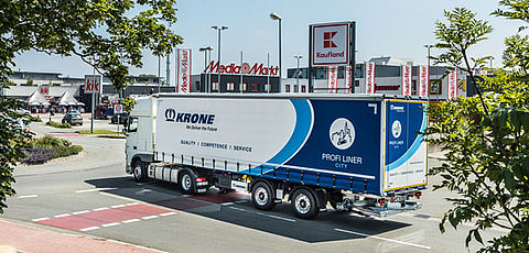 Krone with vehicle variety at Solutrans