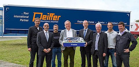 400. Krone Trailer an Spedition Peiffer