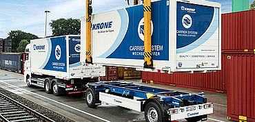 Krone Box Carrier