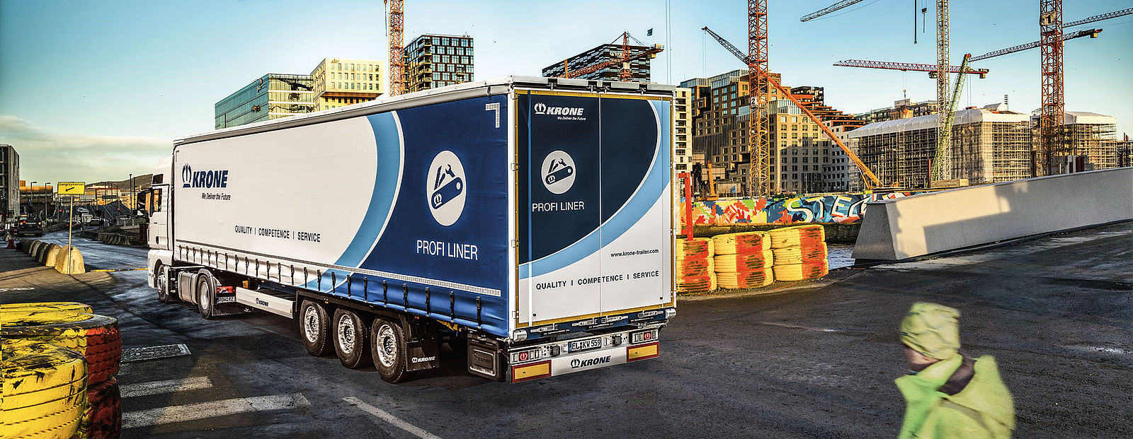 Cross-border transports with Profi Liner TIR