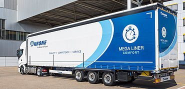 The Mega Liner Comfort - when speed makes the difference