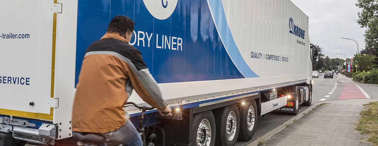 Krone: Trailers with the highest safety standards