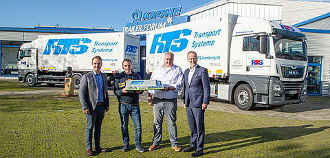 45 Krone units for RTS Transport Service GmbH
