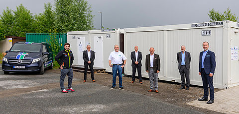 New sanitary containers at GVZ Bremen