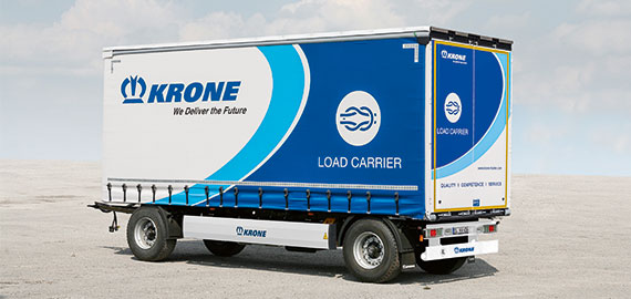 2-axle drawbar trailer