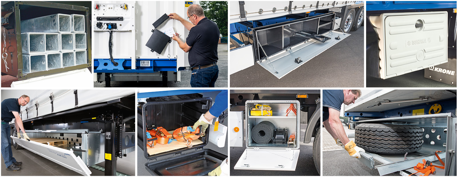 Storage boxes and depots for your equipment