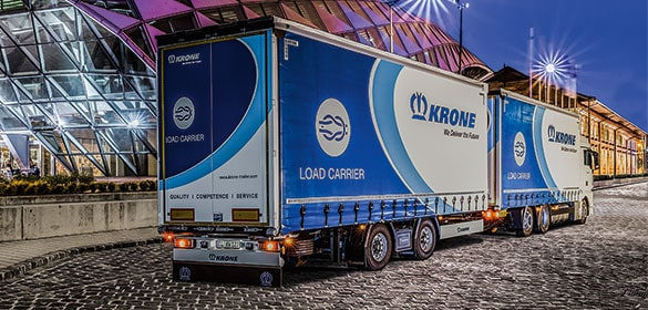 Krone Trailers and Superstructures