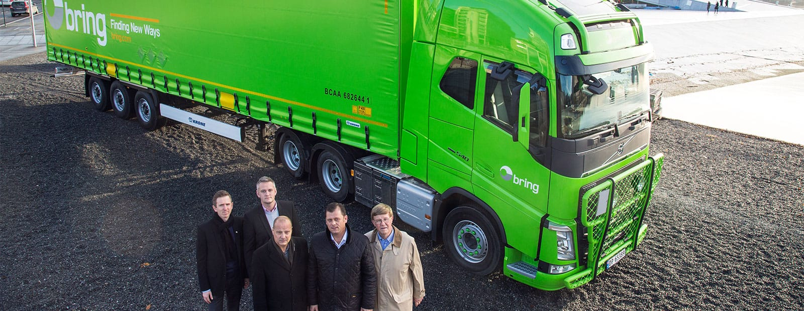 Bring concludes framework agreement with Krone for curtainsider trailers