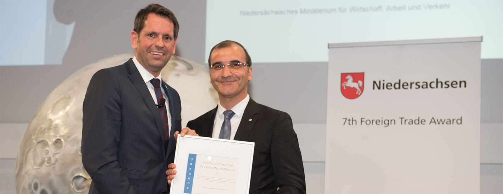 Lower Saxony Foreign Trade Prize has been awarded