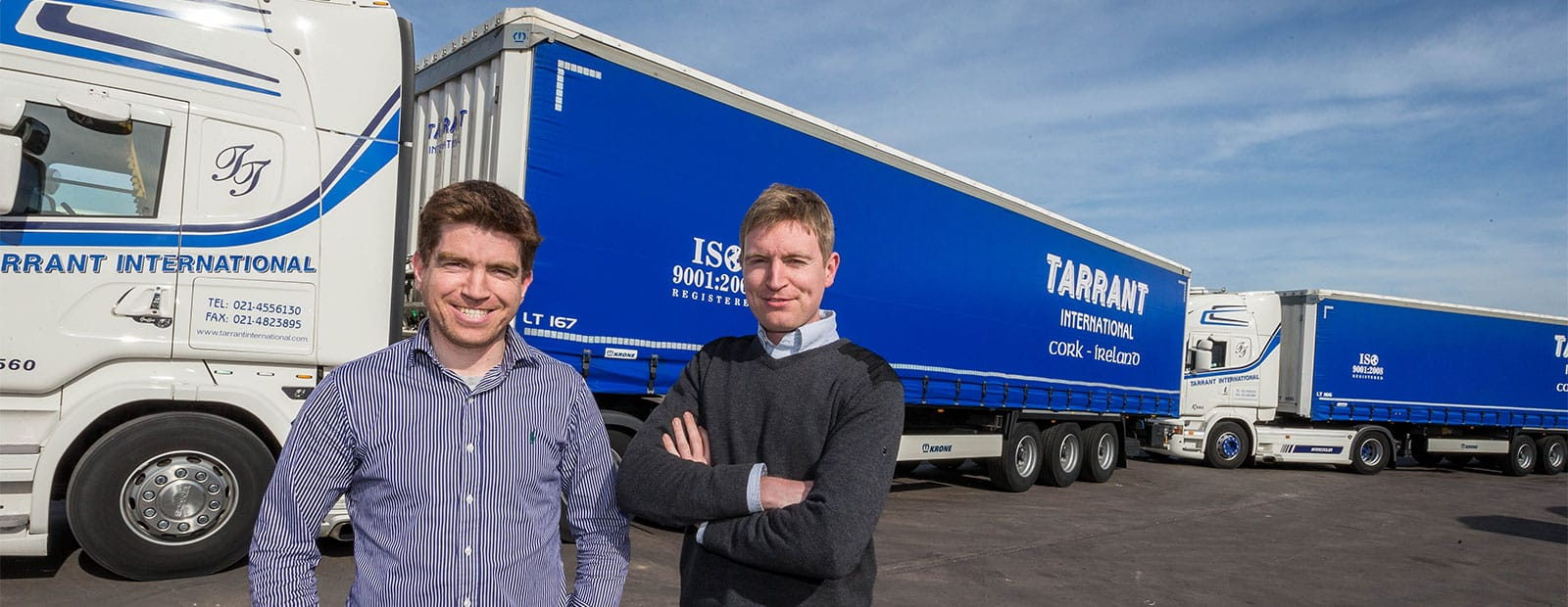 Krone Trailers for Tarrant International