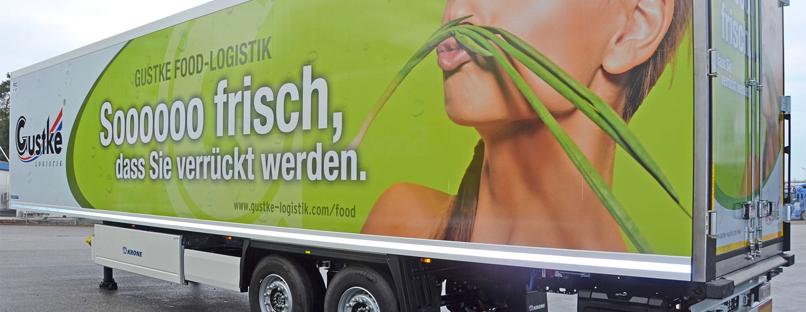 Gustke Food Logistik relies on Krone
