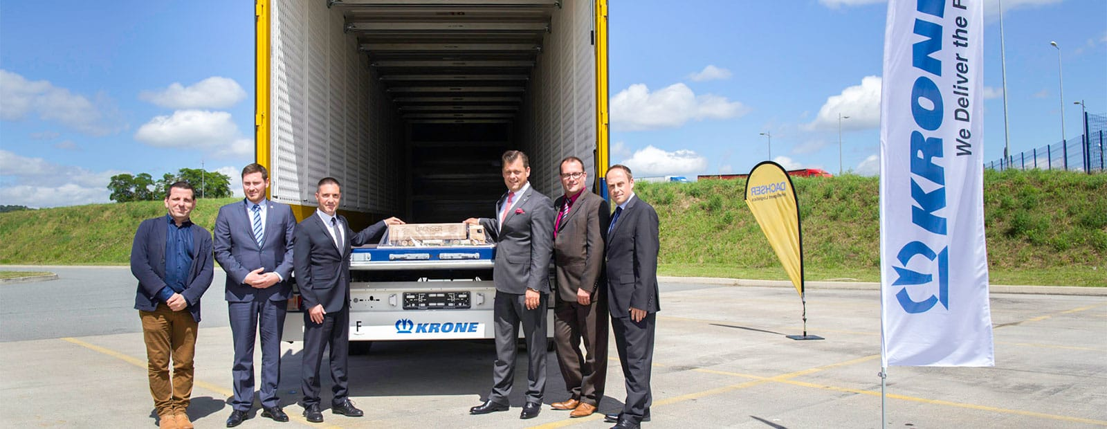 500th Krone box trailer for Dachser France