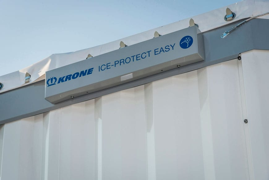 Krone's patented Ice Protect Easy