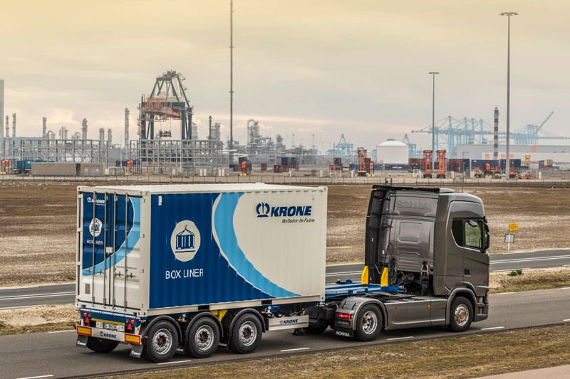 Krone offers compliant Box Liners with maximized payload