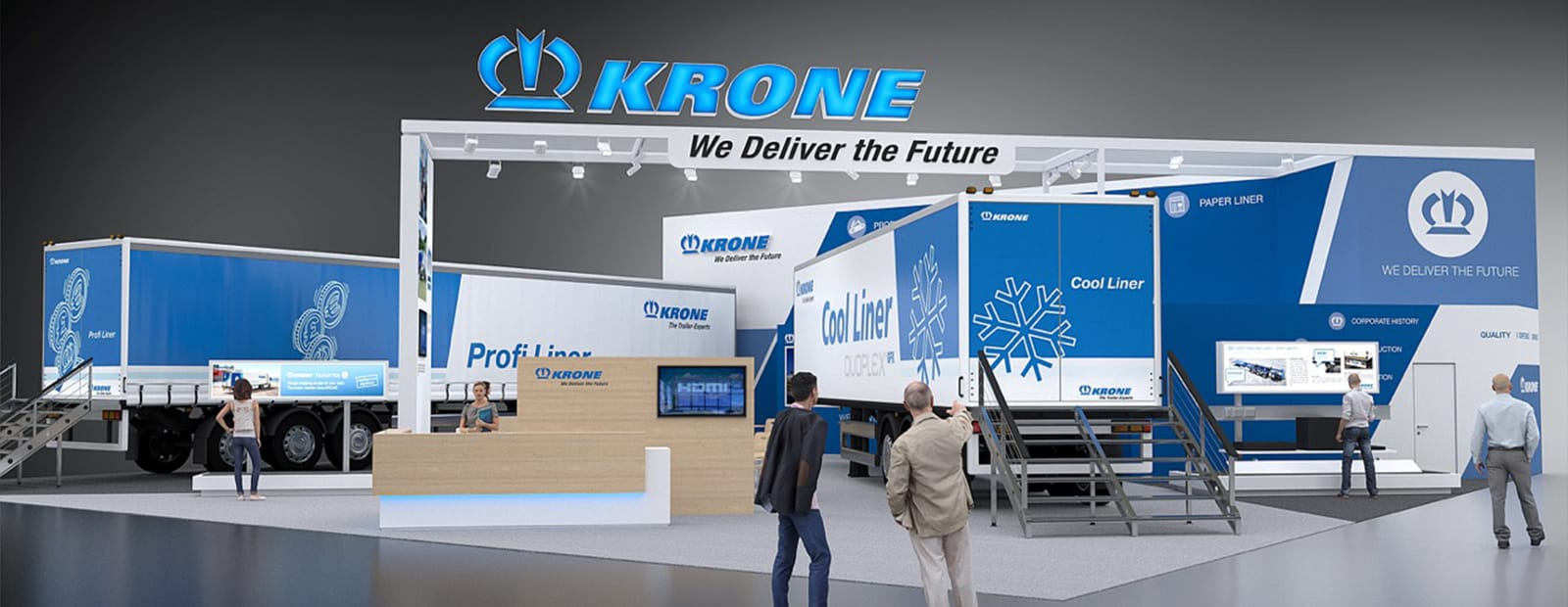 From the 4th to the 9th of September 2017, Krone will be presenting its practical transport solutions in hall 13, stand 13-360 at Comtrans 2017 in Moscow.