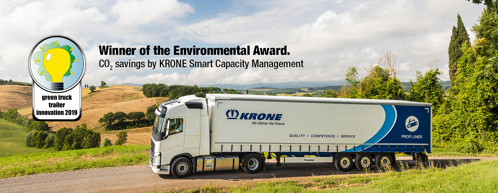 Krone wins Green Truck Trailer Innovation Award