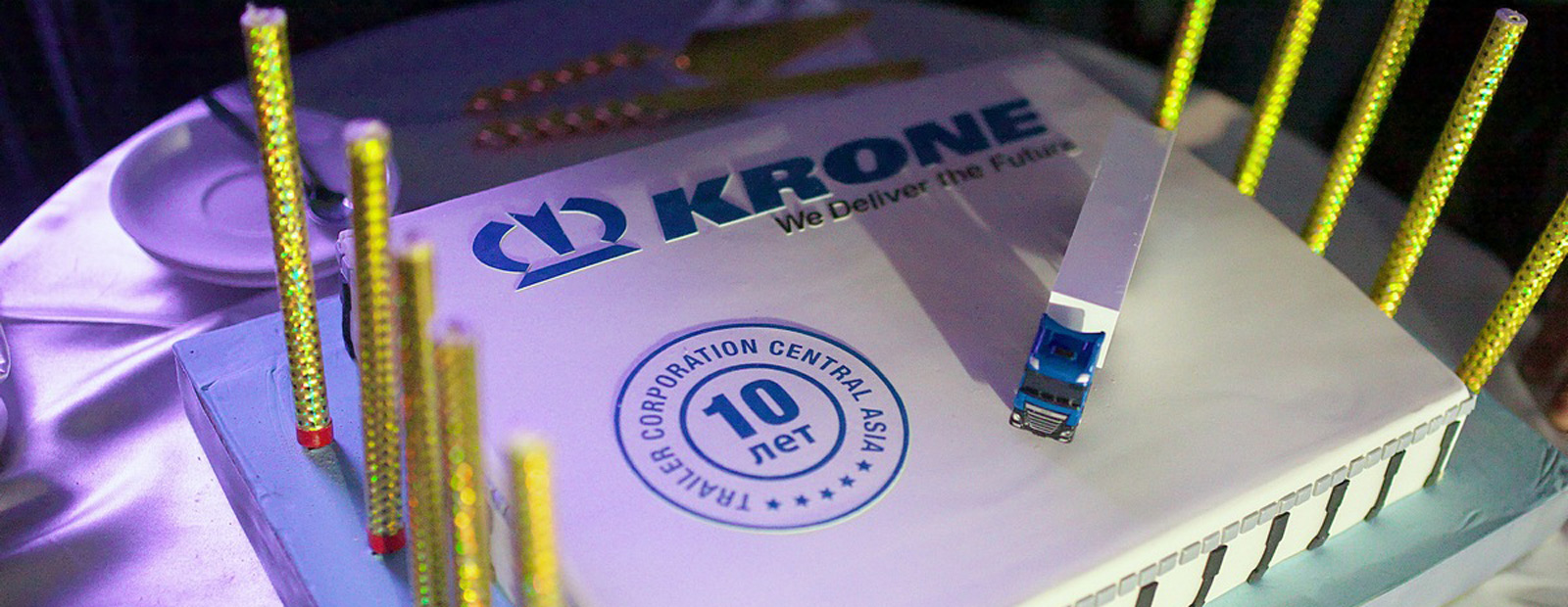 Krone celebrates 10th anniversary in Kazakhstan
