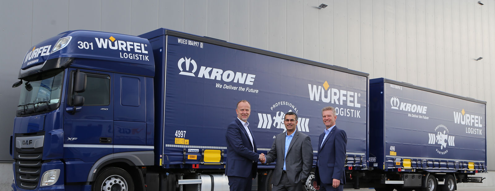 Würfel Logistik relies on Krone
