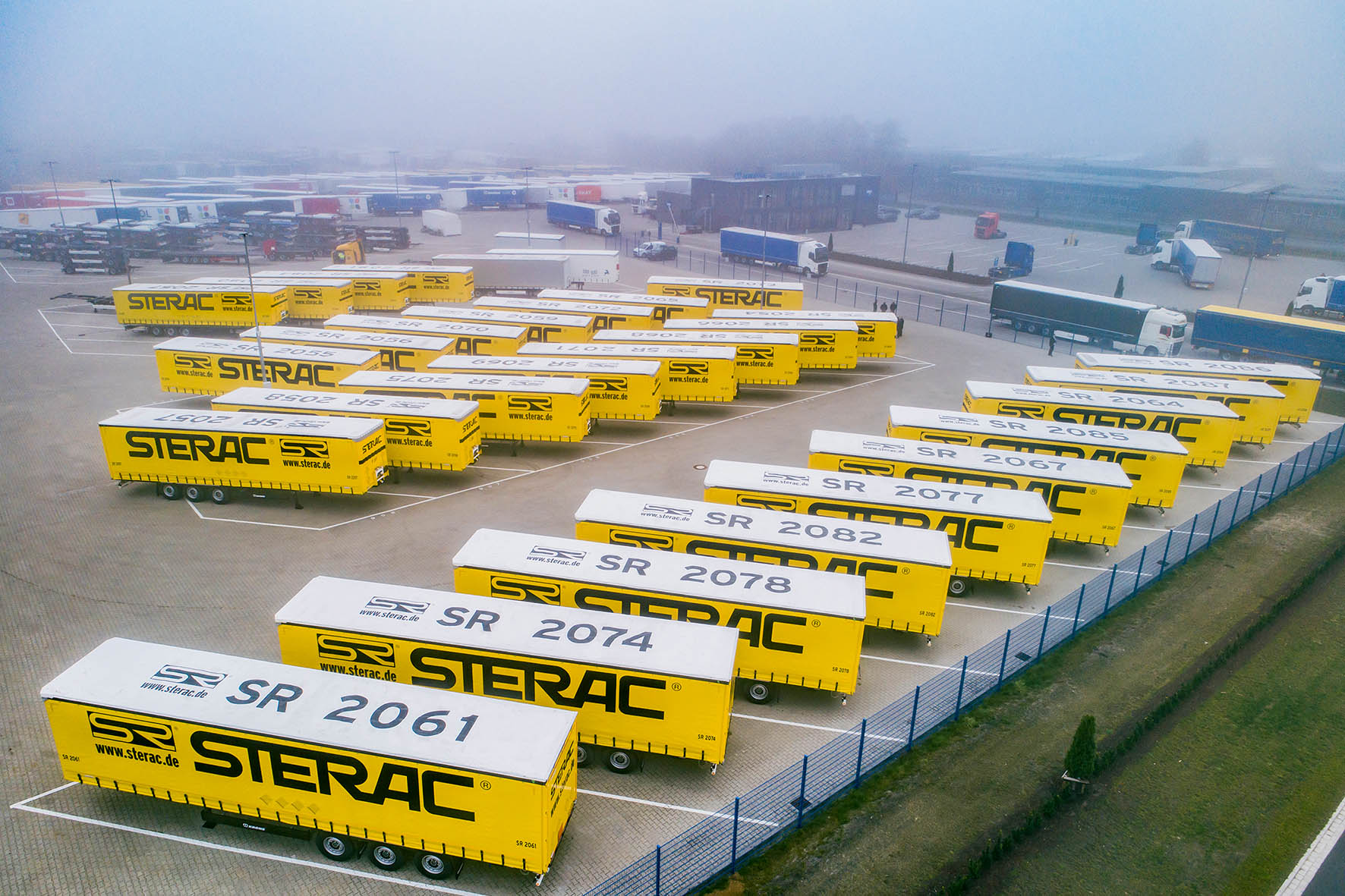 40 Krone trailers for STERAC