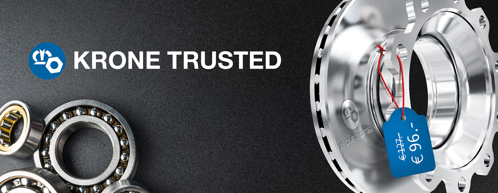 KRONE TRUSTED: The new spare parts brand from the market leader