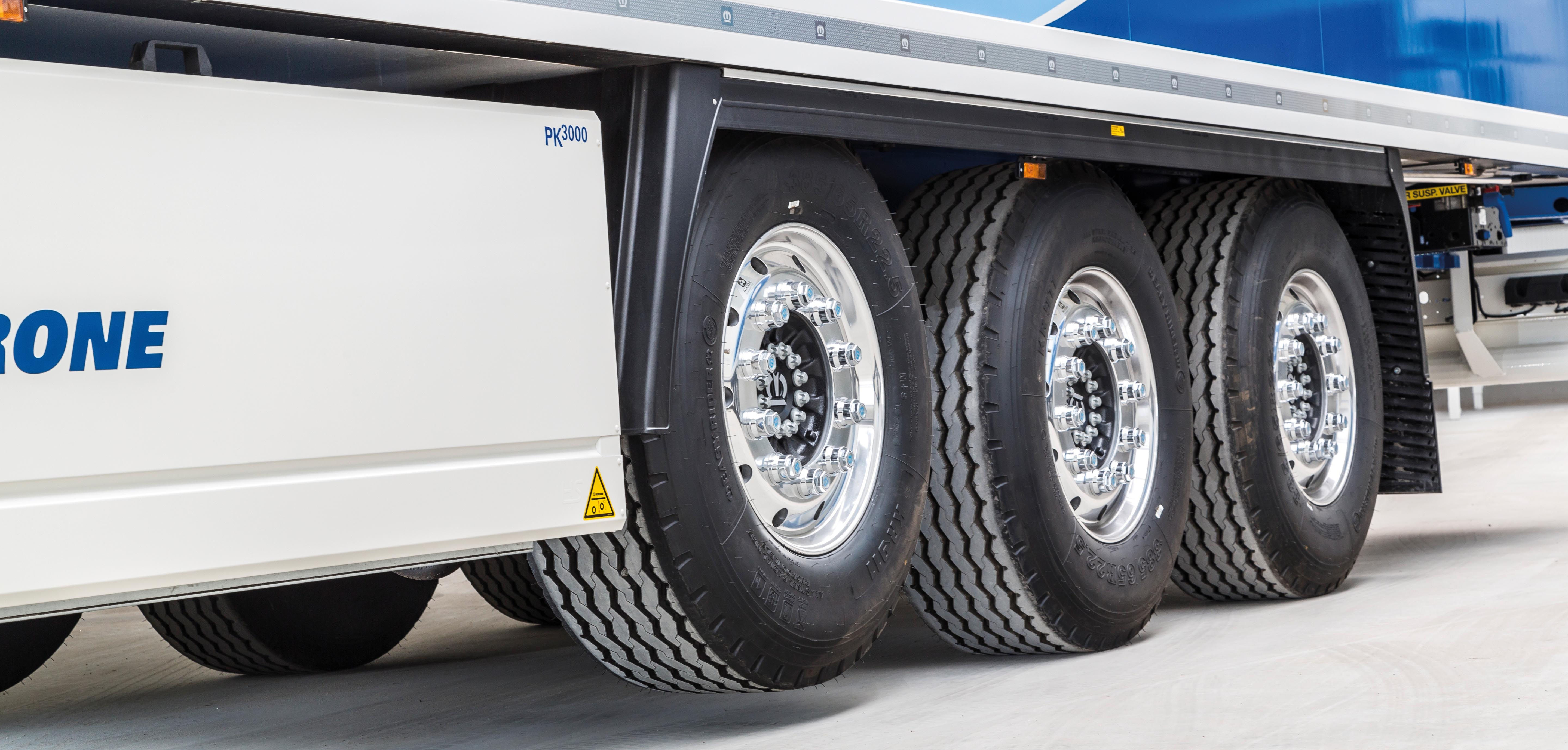 Cool Liner with Krone Trailer Axle
