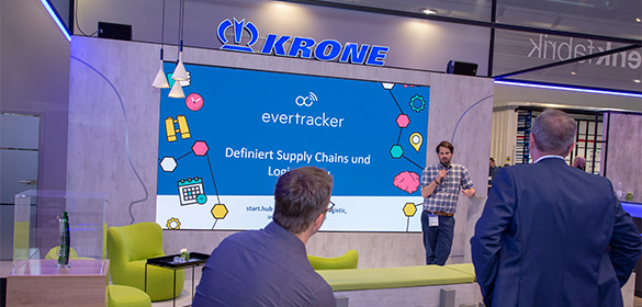 Start-up Evertracker in der Denkfabrik